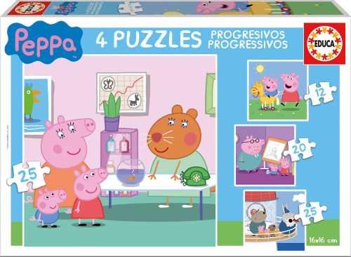 puzzles progresivos